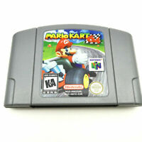 Nintendo N64 Game: Mario Kart 64 Video Game Card US/CAN Version Fast Shipping