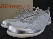 5MERRELL J53174 Enlighten Shine Breeze Silver & White Shoes US 10 M EUR 41 NWB