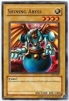 3x Shining Abyss - LON-009 - Common - 1st Edition YuGiOh NM LON - Labyrinth of N