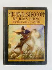 Michael Strogoff, Jules Verne, NC Wyeth, Scribners, 1927