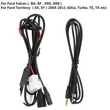 3.5mm Car Audio Stereo Aux USB Charge Harness Cable for Ford Falcon BA Territory