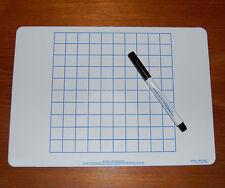 A4 Numeracy Maths Grid Whiteboard & Pen Set