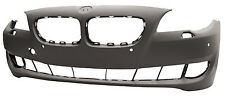 BMW 5 / F10 2010> Front Bumper Primed + PDC With Washer Holes