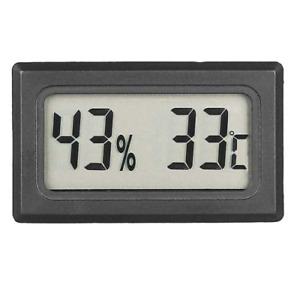 Thermometer Humidity Meter for Hydroponic Grow Rooms - Mushroom Growing