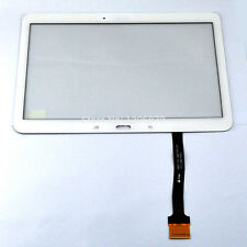 "GL VETRO+TOUCH SCREEN per SAMSUNG GALAXY TAB 4 10,1"" SM-T530 T535 DISPLAY BIANCO"
