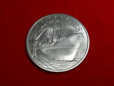 1977 Singapore 10 Dollar Silver Coin.  10th Anniversary of Independence.