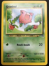 Carte Pokemon GRANIVOL 55/75 Commune Néo Discovery Wizard FR NEUF