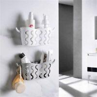 Kitchen Sink Faucet Caddy Bath Hanging Organizer Sink Draining Sponge Holder UK