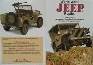 1/16 Danbury Mint WWII Willy's Jeep US Army