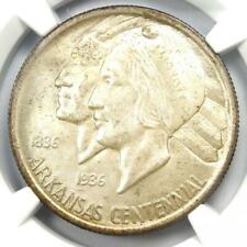 1936 Arkansas Half Dollar 50C (1936-P) - NGC MS67 - Rare in MS67 - $3,700 Value!