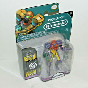 World of Nintendo GRAVITY SUIT SAMUS Figure Series 1-4 Jakks Pacific 2015 SEALED