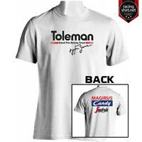 TOLEMAN TG184 RETRO F1 AYRTON SENNA 84 Racing Motorsport Shirt