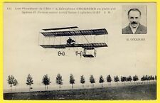 cpa Ed. MALCUIT, PARIS Les Pionniers de 'Air L'AEROPLANE COCKBURN en plein Vol