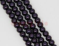 Wholesale Glass Pearl Round Spacer Loose Beads Charms Jewelry DIY 4mm,6mm,8mm