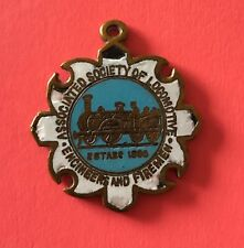 More details for fob aslef asle&f railway trade union enamel badge