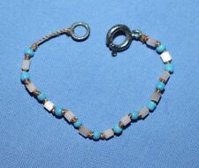 American Girl Doll KAILEY MEET BEADED BRACELET Blue Beads A