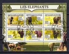 Guinée 2009 Eléphants (240) Yvert n° 4002 à 4007 oblitéré used