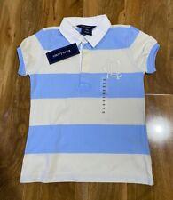 Polo Ralph Lauren Girl's Blue Stripes Polo Shirt For 6 Years BNWT