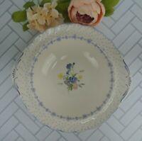 "Vintage Nikko Blue Peony 11"" Vegetable Bowl"