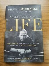 SHAWN MICHAELS HBK signed first edition autographed book WWE WRESTLER