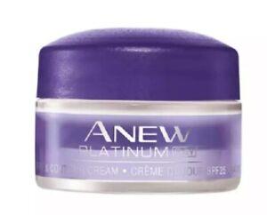 Avon Anew Platinum Define & Contour Day Cream 15ml Travel/Trial Size New SPF 25