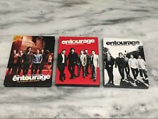 Lot (3) ENTOURAGE Seasons 1, 4, & 5 HBO Tv Series DVD Lot