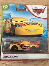 VOITURE DISNEY PIXAR CARS Blue desert Miguel camino