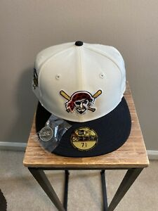 Hat Club Exclusive White Dome Pittsburg Pirates Two Tone ASG 2006 Patch 7 5/8