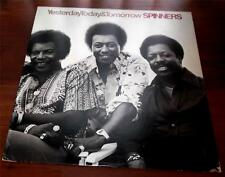 The Spinners Yesterday  Today & Tomorrow  1977 Atlantic 19100  R&B  Soul LP VG++