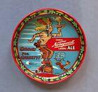 Vintage Dr Seuss Gansett Indian Chief Narragansett Lager & Ale Metal Beer Tray