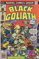 ~BLACK GOLIATH #5~ (1976) ~GIL KANE-AL MILGROM cover~