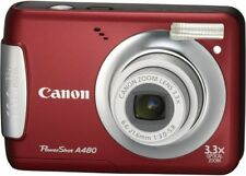 Canon Digital Camera Powershot (Power Shot) A480 Red Psa480 (Re)