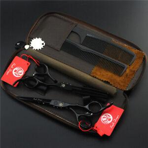 "Purple Dragon® Japan 5.5"" Cutting & Thinning Hairdressing Scissors Set RRP £265"