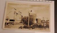Vintage RPPC Postcard GRAIN ELEVATORS Ritzville Washington real photo 1C