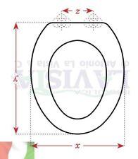COPRIWATER ARTIGIANALE IN LEGNO PER WC  HATRIA SPEA - NIDO-CM Y42/44X36X Z13/18