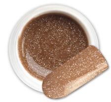 Space Coffee 102 GEL UV E LED GLITTER COLORATO RICOSTRUZIONE UNGHIE NAIL ART