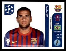 Panini Champions League 2011-2012 - Dani Alves FC Barcelona No. 486