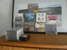 Classic Rock, Heavy Metal CD LOT with cleaning wipes and 10 spare jewel cases