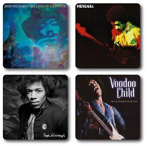 Jimi Hendrix 4 Piece Coaster Set