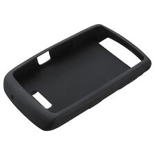 Original BlackBerry Storm Thunder 9530 9520 9500 Black Rubber Skin Silicone Case