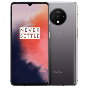 OnePlus 7T - 128GB - Frosted Silver - Single SIM - GSM Unlocked - Smartphone