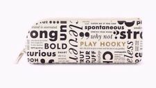 Kate Spade New York NWT 'What Do You Say' Pencil Case or Cosmetic Case LTD ED.