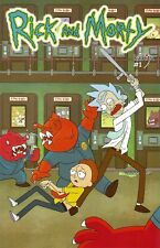 ONI PRESS Mexico ADULT SWIM RICK AND MORTY #1 1ST PRINT Variant