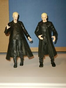 Moore's Collectibles Buffy Vampire Slayer & Diamond Select Vampire Spike Lot X 2