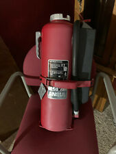 New listing Ansul Red Line 20lb. Abc Dry Chemical Fire Extinguisher And Bracket