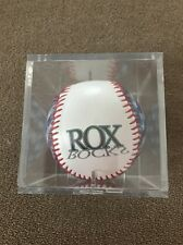 Minor League Collectors Baseball W Case Brockton Rox Hologram American Flag (KC)