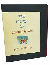 The Hours of Etienne Chevalier Jean Fouquet Illuminated Book of Hours 1971