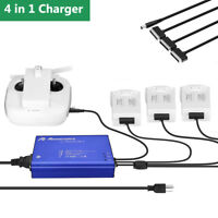 4 in1 Multi Battery Rapid Parallel Charger Hub for DJI Phantom 4/4 Pro/4 Pro+