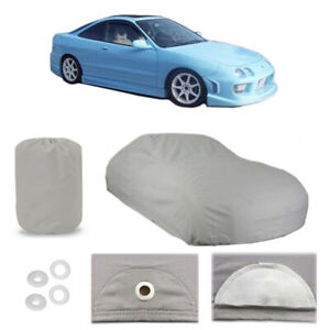 Fits 1986-2001 Acura Integra 4 Layer Car Cover Fitted Water Proof Snow Rain Dust