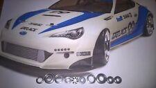 HPI MICRO RS4 & HPI MICRO RS4-RTR Modelos 4WD Completo/Cojinete de Cerámica ST ST.